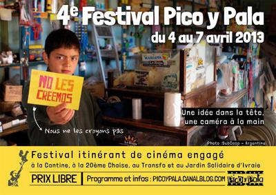 4e festival Pico y Pala du 4 au 7 avril 2013