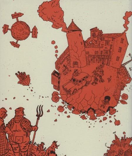 La Communauté, par Hervé Tanquerelle et Yann Benoît, éditions Futuropolis, 2008