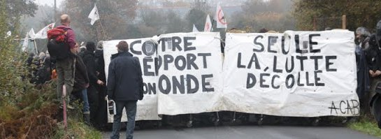 Manifestation de réoccupation Notre-Dame des Landes - 17 novembre 2012